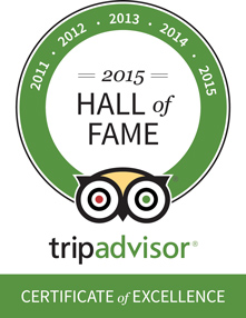 Ground Zero Trip Advisor Certificate of Excellence