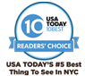 USA Today's 5 Best Things to See in NYC